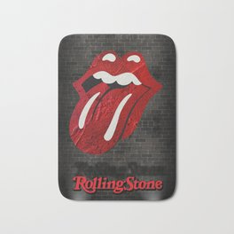Rolling Stones Bath Mat