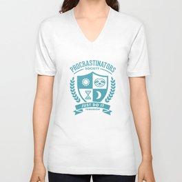Procrastinators Society Unisex V-Neck