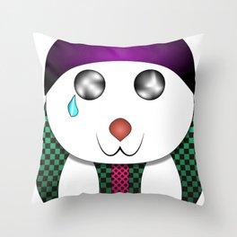 Oso kawai Throw Pillow