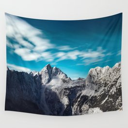 Jalovec mountain in Slovenia Wall Tapestry