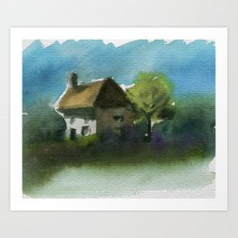 A Place in the Country Art Print