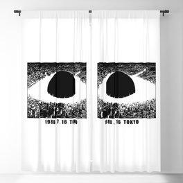 1988 7 16 Tokio v2 Blackout Curtain