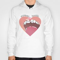 "tooth Hoodies featuring ""sweet tooth"" by Vincent Vernacatola"