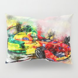 Lucas di Grassi, Formula E Pillow Sham