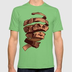 E=M.C. Escher Grass Mens Fitted Tee MEDIUM