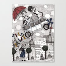 Going on Holiday Canvas Print