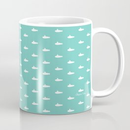 Tiny Subs - Teal Coffee Mug