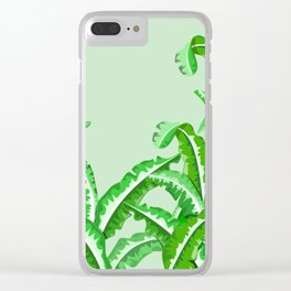 Silverbeat Vegetable pattern Clear iPhone Case