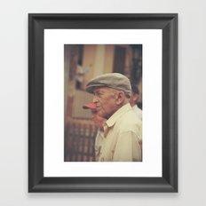 Portrait. Barcelona. Framed Art Print