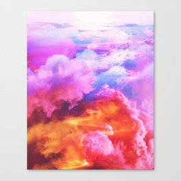 Alpha waves Canvas Print