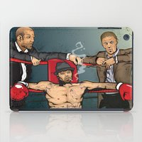 snatch iPad Cases featuring SNATCH  by Juan Pablo Fertitta