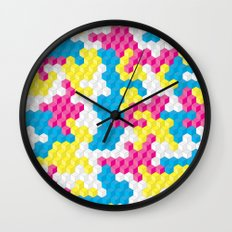 CUBOUFLAGE CANDY Wall Clock