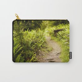 Forest Fern Path in New Zealand Carry-All Pouch
