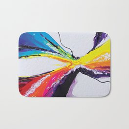 Abstract Art Britto - QB295 Bath Mat