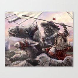 Miguel Dog Cervantes Canvas Print