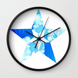 Star of Elysium Wall Clock