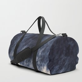 Blue Clouds, Blue Moon Duffle Bag