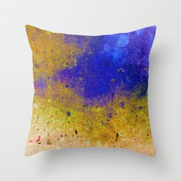 Ink Intrusion Throw Pillow