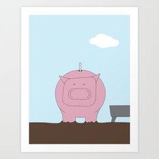 Moneybox Art Print