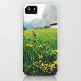 Lauterbrunnen Valley iPhone Case
