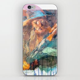 Cowardly Lion with AK-47 iPhone Skin