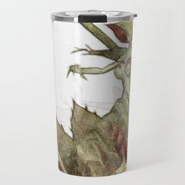 Blood death flower Travel Mug