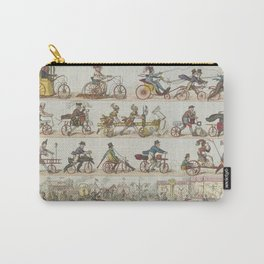 Vintage Bicycle Race Carry-All Pouch
