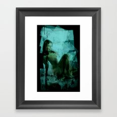 Ms. Emerald Framed Art Print