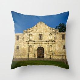 Empty Alamo Throw Pillow