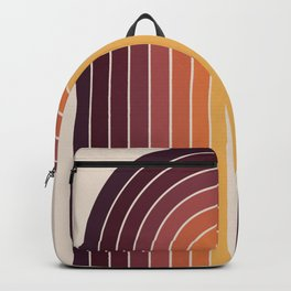 Gradient Arch - Sunset Backpack