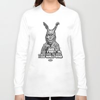 """donnie darko Long Sleeve T-shirts featuring Frank from """"Donnie Darko"""" by Andysocial Industries"""