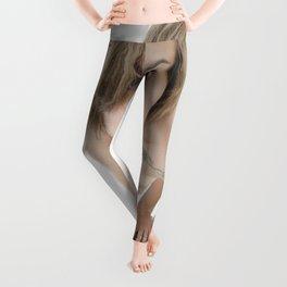 9360-KMA Brown Eyed Girl Nude on Mirror Leggings