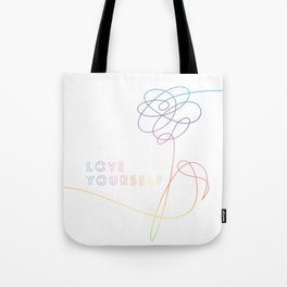 BTS Love Yourself Her O Version Tote Bag