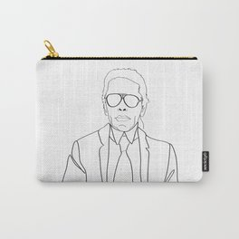 Karl Lagerfeld portrait Carry-All Pouch