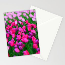Tulips flowers Stationery Cards