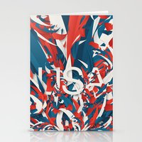 usa Stationery Cards featuring USA by Danny Ivan