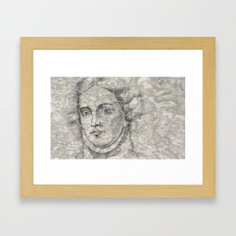 A Lady of Great Renown Framed Art Print