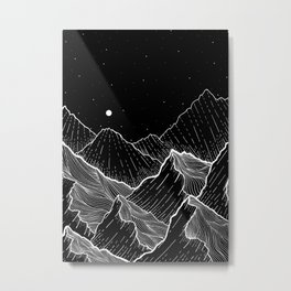 Sea mountains Metal Print