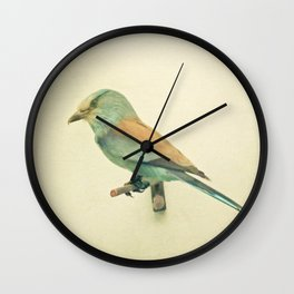 Bird Study #2 Wall Clock