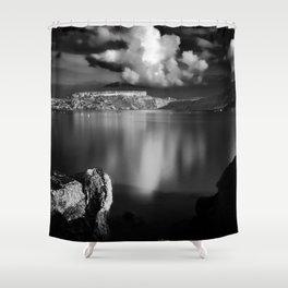 Gnejna Bay, Malta  Shower Curtain