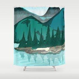Mountain Feelings Shower Curtain