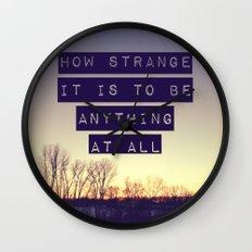 How Strange Wall Clock