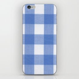 GINGHAM I iPhone Skin