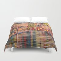 minneapolis Duvet Covers featuring Minneapolis  by Kali Koltz