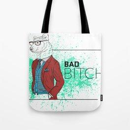 Bad News Bear Tote Bag