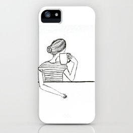 Time for caffe iPhone Case