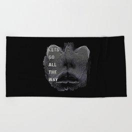 Alien Lover Beach Towel