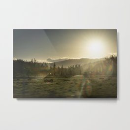 Reflections of the Sun Metal Print