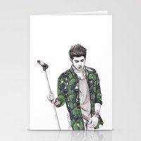 zayn Stationery Cards featuring Zayn Floral by Coconut Wishes