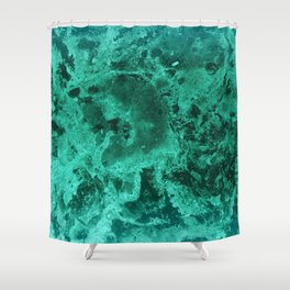 Malachite Dream #1 #gem #decor #art #society6 Shower Curtain